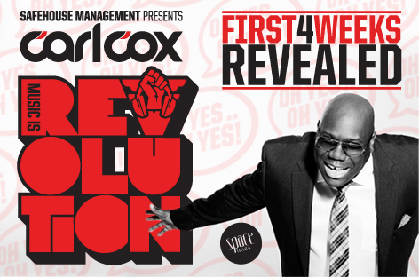 CARL COX FIRST FOUR WEEKS
