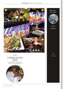 Communion Bar - Metropolitan Magazine (August Issue) - 'Where We're Drinking' Piece_000001