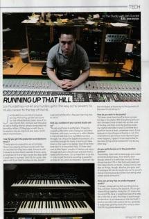 Jon Rundell - DJ Mag (UK, November Issue 2014) In The Studio Feature Pt.1