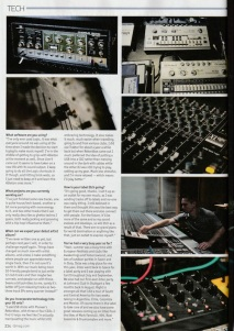 Jon Rundell - DJ Mag (UK, November Issue 2014) In The Studio Feature Pt.2