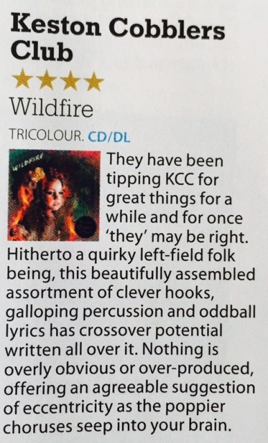 KCC - MOJO Magazine - September
