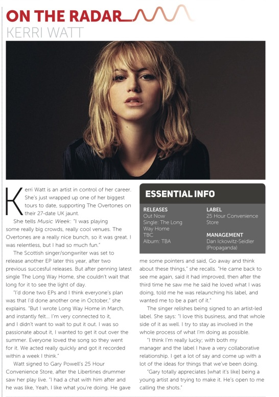 Music Week Radar - 27 July