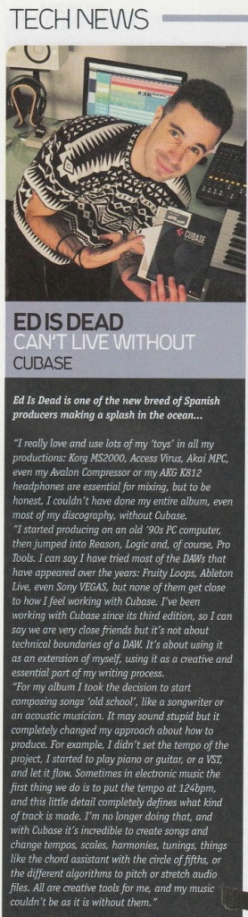 Ed is Dead - DJ Magazine - August