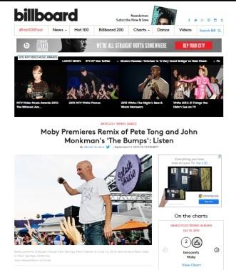 Billboard Moby Premiere