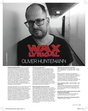 Oliver Huntemann - DJ Mag USA (February 2016 Issue) - Wax Lyrical Feature.jpg